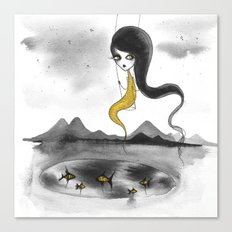 Fishie Canvas Print