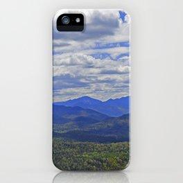 The Adirondack High Peaks iPhone Case