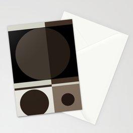 Circular Elegance Stationery Cards