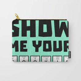 Show me your cookies nerd Bh454 Carry-All Pouch