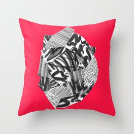 Self control Throw Pillow