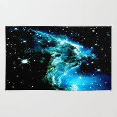 galaXY Monkey Head Nebula Rug
