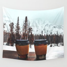 Snow, coffee and you * Wall Tapestry