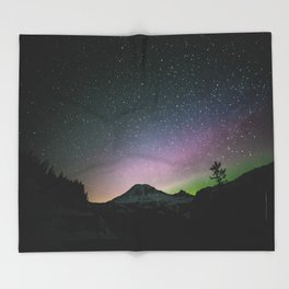 Stars III Throw Blanket
