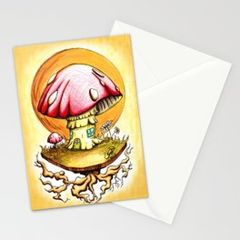 Home is Magic Stationery Cards