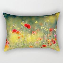 United Colors of Summer Rectangular Pillow