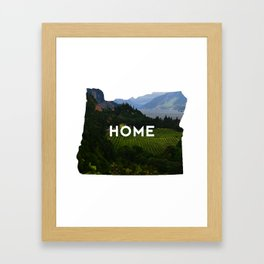 Oregon Home Framed Art Print