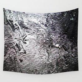 Black Lava III Wall Tapestry