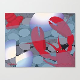 Lobstah Canvas Print