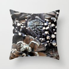 Pinecones Throw Pillow