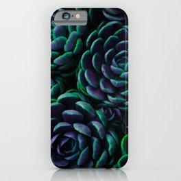 Midnight Succulent Garden iPhone Case