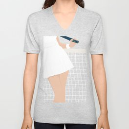 Let's Play #society6 #decor #buyart Unisex V-Neck