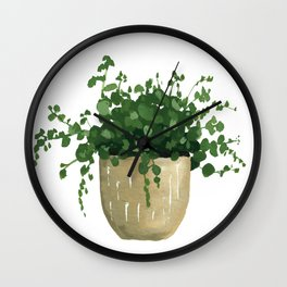 House Plant IV Wall Clock