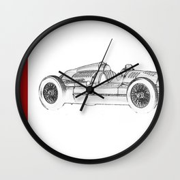 RennSport Speed Series: The Four Rings Wall Clock