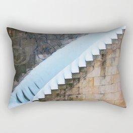Under the blanket Rectangular Pillow