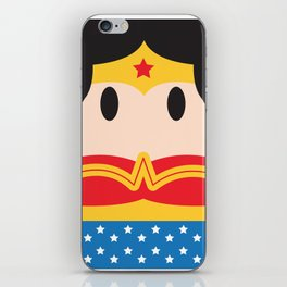 W-woman Block iPhone Skin 269ed50c64