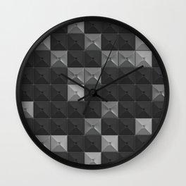 square puzzle Wall Clock