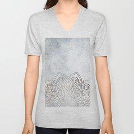 G.Marble-Wall Mandala Unisex V-Neck