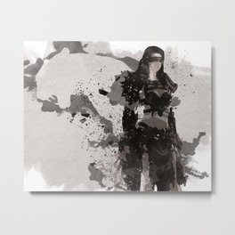 Be a Hero - Leopard spirit Metal Print