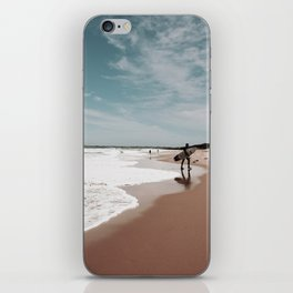Out of the Waves iPhone Skin