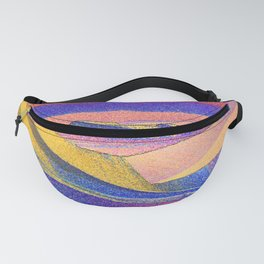 Stunning Crystals of Sulfur Fanny Pack