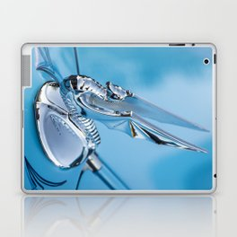 Flying Seahorse Hood Ornament - Classic Car Laptop & iPad Skin