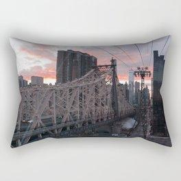 Roosevelt Island Tramway Rectangular Pillow