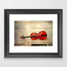 violin II Framed Art Print