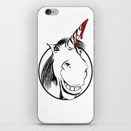 Happy Unicorn iPhone Skin