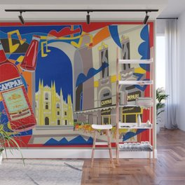 Vintage Cordial Campari Limited Edition Advertisement Poster #3 of 8 originally limited to 70 by Ugo Wall Mural
