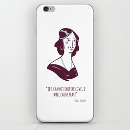 Mary Shelley iPhone Skin