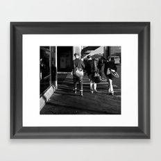 Travellers Framed Art Print
