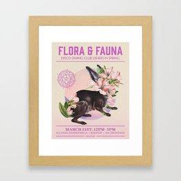 Flora & Faunca Framed Art Print