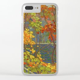 Tom Thomson The Pool 1915-1916 Canadian Landscape Artist Clear iPhone Case