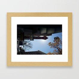 Downtown Waco Framed Art Print