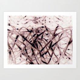 Nega Wires Art Print