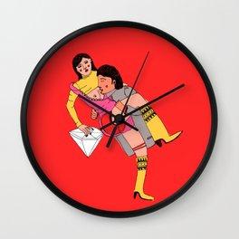 eroti print Wall Clock