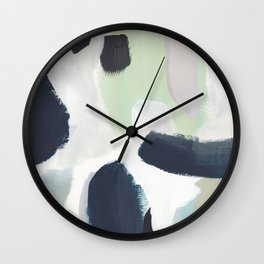 For You Blue Wall Clock