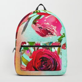 Flowers bouquet #49 Backpack