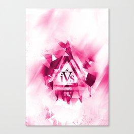 iPhone 4S Print - Pink Canvas Print