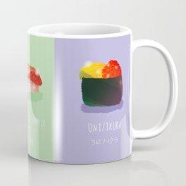 Omakase Sushi Coffee Mug