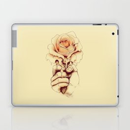 Rose a la Mode Laptop & iPad Skin