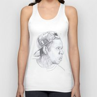 jay z Tank Tops featuring Jay Z - Go Home by davidcain_art