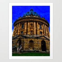 The Radcliffe Camera of Oxford England Art Print