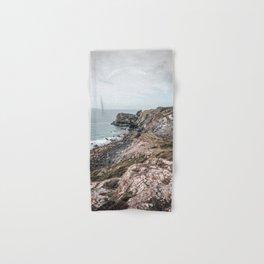 Cornwall's cliffs Hand & Bath Towel