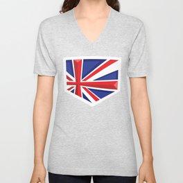 Montgomery Brits Logo Unisex V-Neck