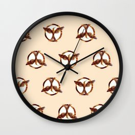 mocking jay Wall Clock