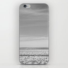 uphill (that was farther than I thought) iPhone Skin