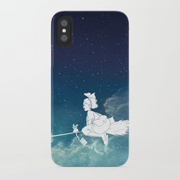 Kiki's Delivery Service Illustration iPhone Case