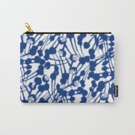 Rainy Opium Poppy Seed Abstract Carry-All Pouch